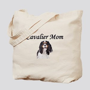 Cavalier Mom-Light Colors Tote Bag