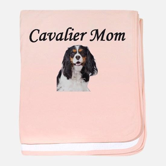 Cavalier Mom-Light Colors baby blanket