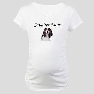 Cavalier Mom-Light Colors Maternity T-Shirt