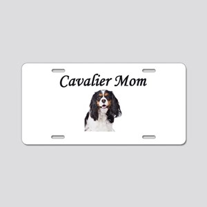 Cavalier Mom-Light Colors Aluminum License Plate