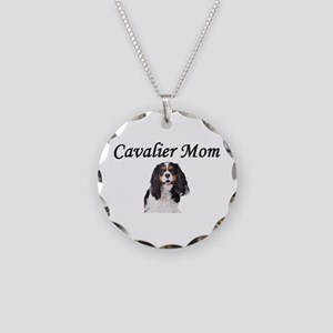 Cavalier Mom-Light Colors Necklace Circle Charm