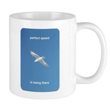 Perfect Speed Is Being There Mug