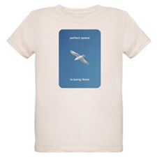 Perfect Speed Is Being There Organic Kids T-Shirt