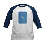 Perfect Speed Is Being There Kids Baseball Jersey