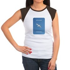 Perfect Speed Is Being There Women's Cap Sleeve T-