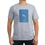 Perfect Speed Is Being There Men's Fitted T-Shirt
