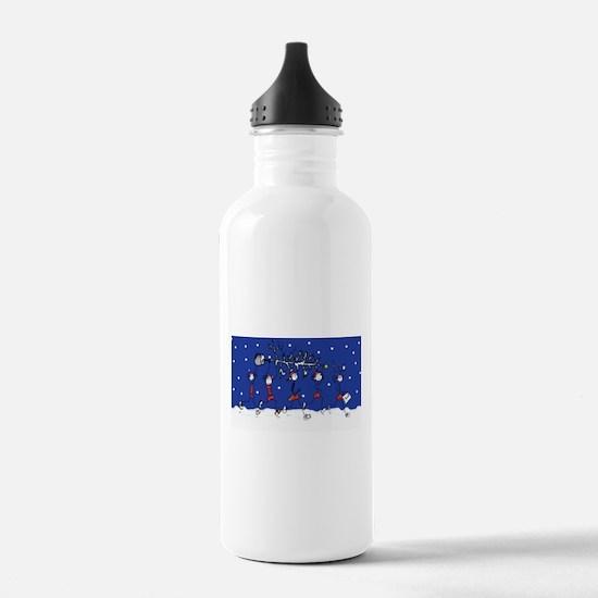 Christmas Runners Water Bottle