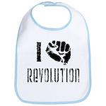 I Fist Revolution Bib