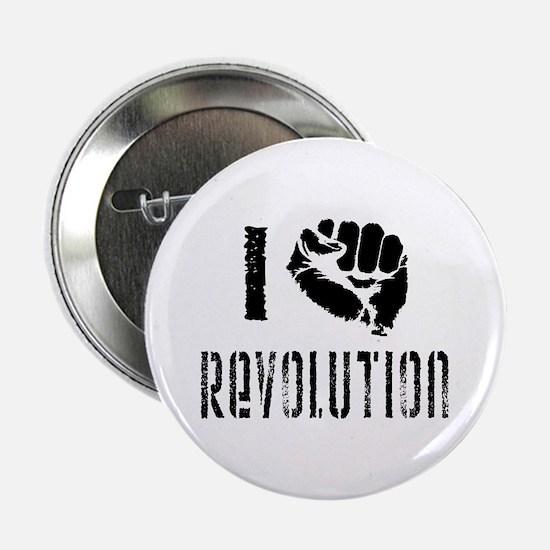 "I Fist Revolution 2.25"" Button"