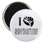 I Fist Revolution Magnet