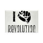 I Fist Revolution Rectangle Magnet