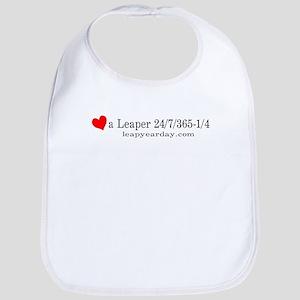 Love A Leaper Bib