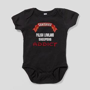 Certified Polish Lowland Sheepdog Ad Baby Bodysuit