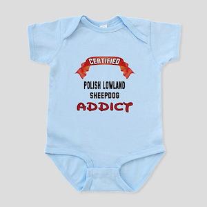 Certified Polish Lowland Sheepdog Infant Bodysuit