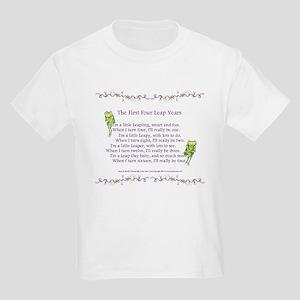 First Four Leap Years Kids Light T-Shirt
