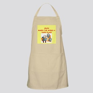 craps gifts t-shirts Apron