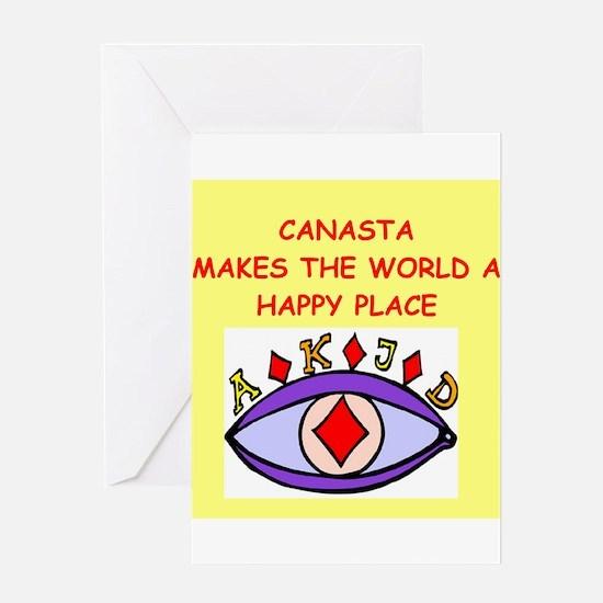 canasta gifts t-shirts Greeting Card