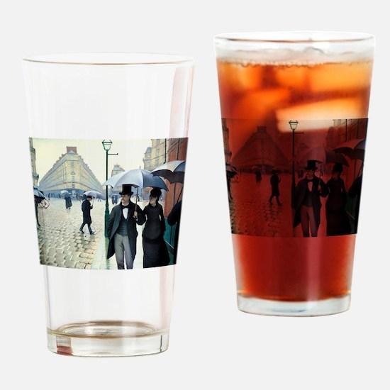 Paris Street Rainy Day Drinking Glass