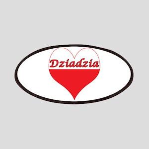 Dziadzia Polish Heart Patches