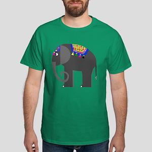 Indian Elephant Dark T-Shirt