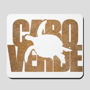 Cape Verde Turtle Sand Mousepad