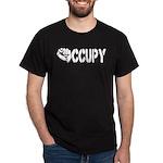 Occupy Wall Street Fist Dark T-Shirt
