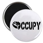 Occupy Wall Street Fist Magnet