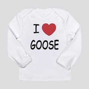 I heart goose Long Sleeve Infant T-Shirt