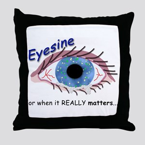 Eyesine Throw Pillow