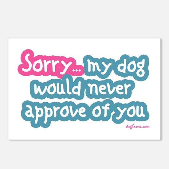 Sorry (Dog) Postcards (Package of 8)