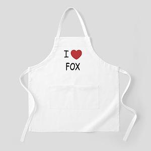 I heart fox Apron