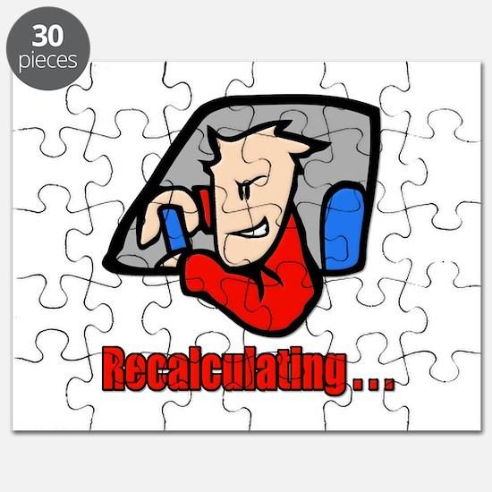 Recalculating . . . Puzzle