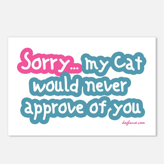 Sorry (Cat) Postcards (Package of 8)