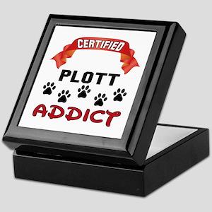 Certified Plott Addict Keepsake Box