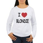 I heart blondie Women's Long Sleeve T-Shirt
