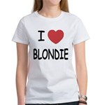 I heart blondie Women's T-Shirt