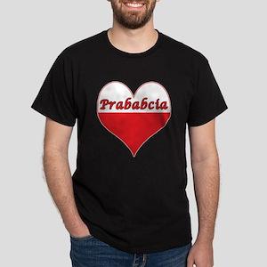 Prababcia Polish Heart Dark T-Shirt