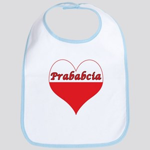 Prababcia Polish Heart Bib
