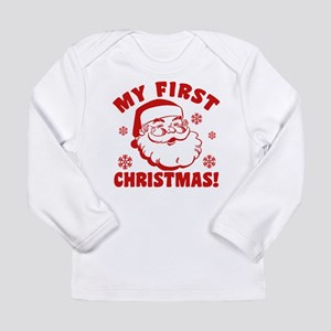 My First Christmas Long Sleeve Infant T-Shirt