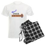 Novel Under Construction Men's Light Pajamas