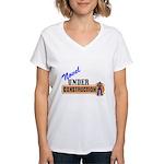 Novel Under Construction Women's V-Neck T-Shirt