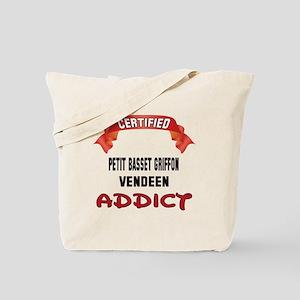 Certified Petit Basset Griffon Vendeen Ad Tote Bag