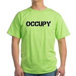 Occupy Green T-Shirt