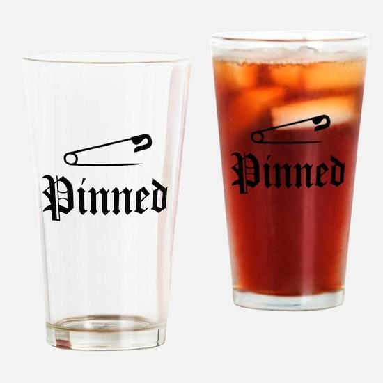 Unique Wrestlers Drinking Glass