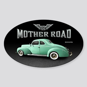 Mother Road - Mint Sticker (Oval)