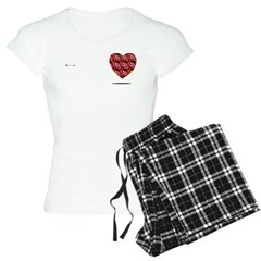 Bingo Heart meets arrow Pajamas