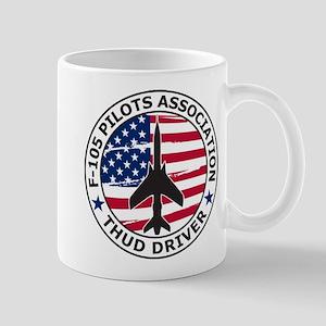 F105 PILOTS ASSOC Mugs
