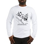 Models Are Only a Few Molecules Big Long Sleeve T-