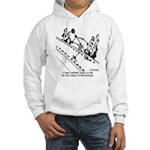 Models Are Only a Few Molecules Big Hooded Sweatsh
