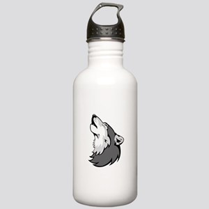 Wolf design Stainless Water Bottle 1.0L
